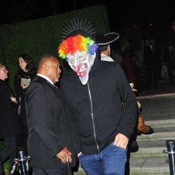 Leonardo DiCaprio durante la fiesta de Halloween en Casamigos