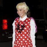 Olivia Munn durante la fiesta de Halloween en Casamigos