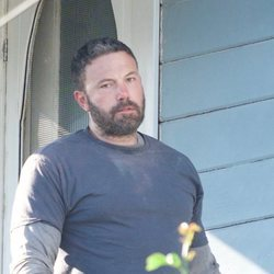Ben Affleck en el set de rodaje de la serie 'City on a Hill'
