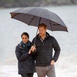 Los Duques de Sussex visitan el Parque Nacional Abel Tasman de Nueva Zelanda