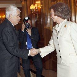 La Reina Sofía y Pasqual Maragall