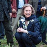 La Reina Sofía muestra que es ecologista