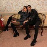 Hiba Abouk y Achraf Hakimi posan enamorados