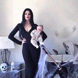 Adriana Abenia y su hija Luna disfrazadas para Halloween