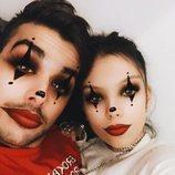 Alejandra Rubio y Álvaro Lobo preparados para Halloween