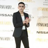 Omar Ayuso en los Premios Woman 2018