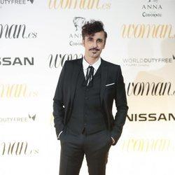 Canco Rodríguez en los Premios Woman 2018