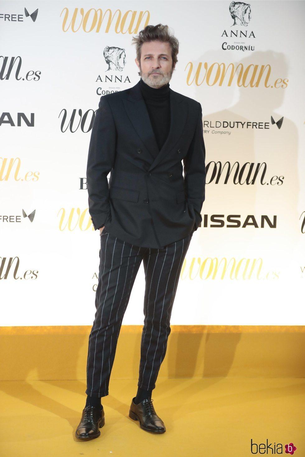 Jesús Olmedo en los Premios Woman 2018