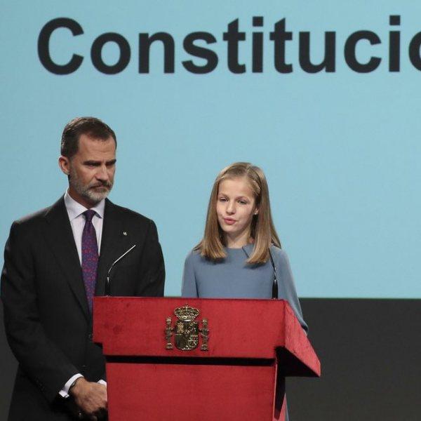 Primera intervención pública de la Princesa Leonor