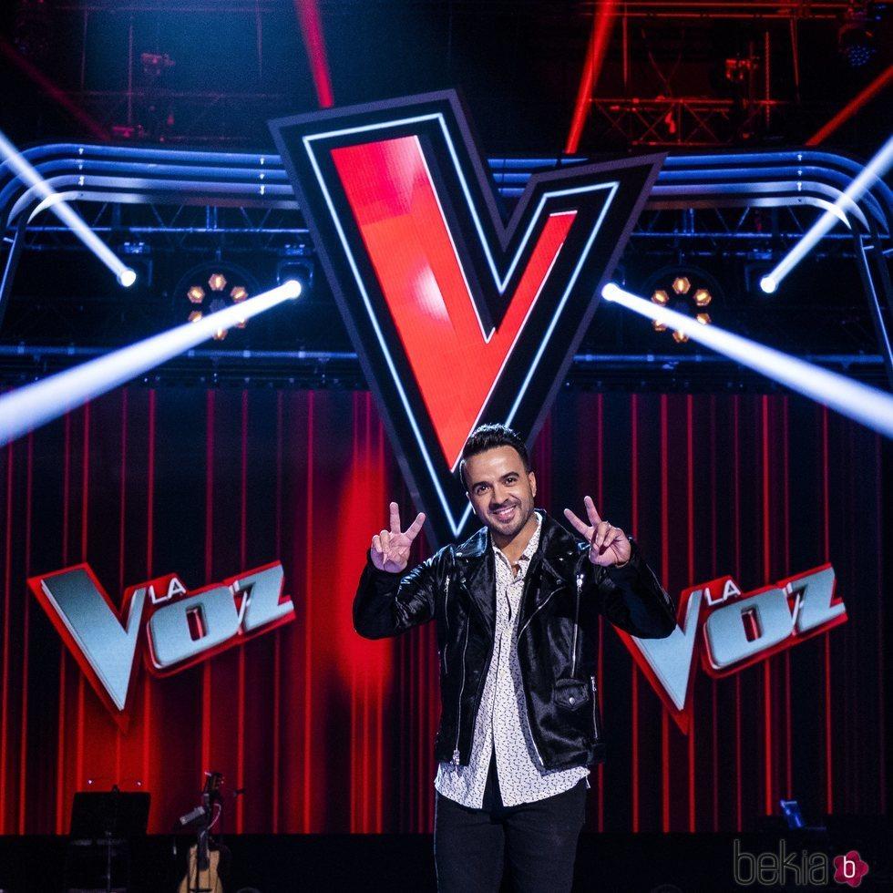 Luis Fonsi en la presentación de 'La Voz'