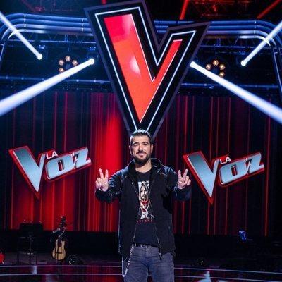 Antonio Orozco en la presentación de 'La Voz'