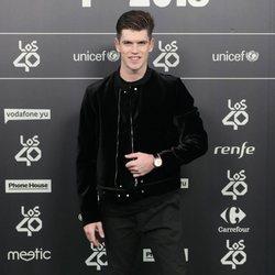 Miguel Bernardeau en la alfombra roja de los 40 Music Awards 2018