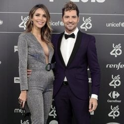 Rosanna Zanetti y David Bisbal en Los 40 Music Awards 2018