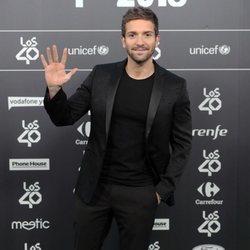 Pablo Alborán en Los 40 Music Awards 2018