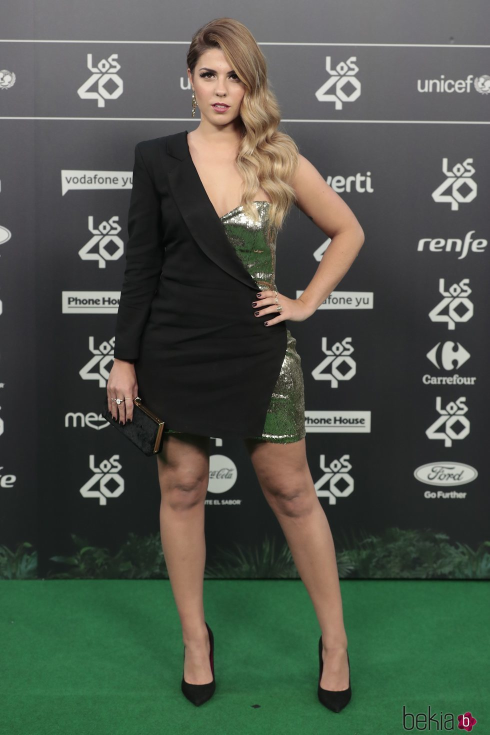 Miriam Rodríguez en Los 40 Music Awards 2018