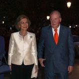 El Rey Juan Carlos y la Reina Sofía en el concierto por su 80 cumpleaños