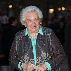 La Infanta Pilar de Borbón en el concierto por el 80 cumpleaños de la Reina Sofía