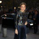 Farah Diba en el concierto por el 80 cumpleaños de la Reina Sofía