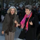 Rosa María Mateo en el concierto por el 80 cumpleaños de la Reina Sofía