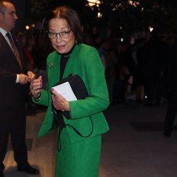 Margarita Gómez Acebo en el concierto por el 80 cumpleaños de la Reina Sofía
