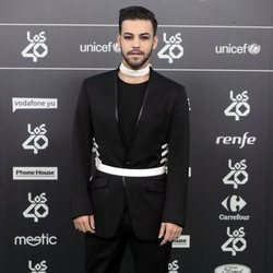 Agoney en Los 40 Music Awards 2018