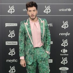 Blas Cantó en Los 40 Music Awards 2018