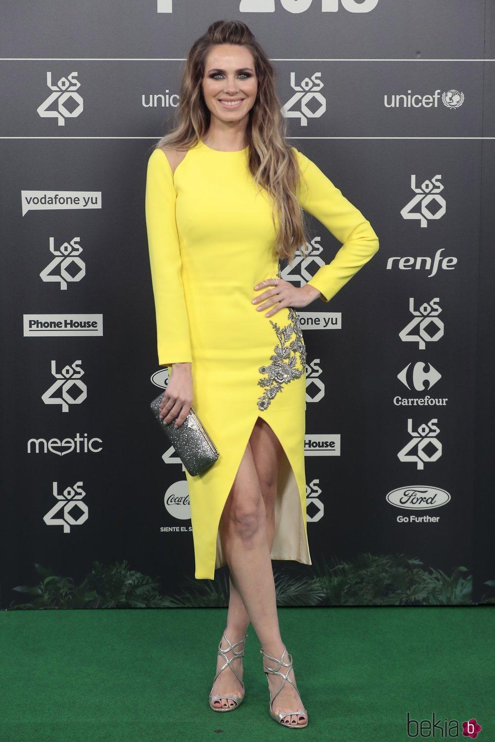Vanesa Romero en Los 40 Music Awards 2018