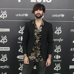 David Otero en Los 40 Music Awards 2018