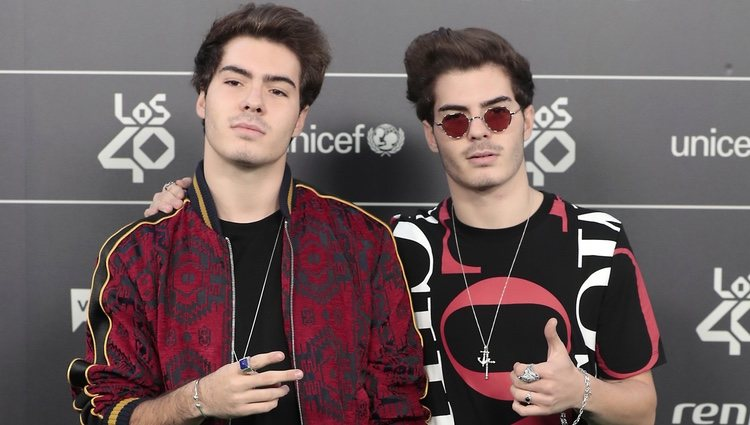 Gemeliers en Los 40 Music Awards 2018