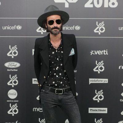 Leiva en Los 40 Music Awards 2018