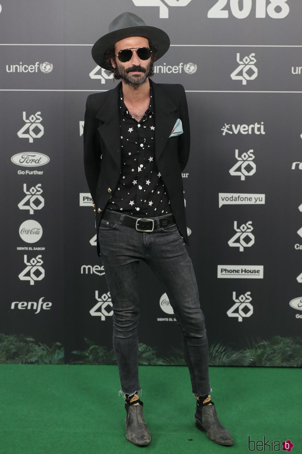 Leiva en Los 40 Music Awards 2018