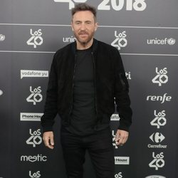 David Guetta en Los 40 Music Awards 2018