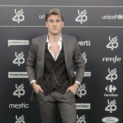 Dani Fernández en Los 40 Music Awards 2018