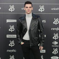 Álvaro Rico en Los 40 Music Awards 2018