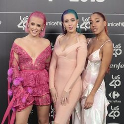 Sweet California en Los 40 Music Awards 2018