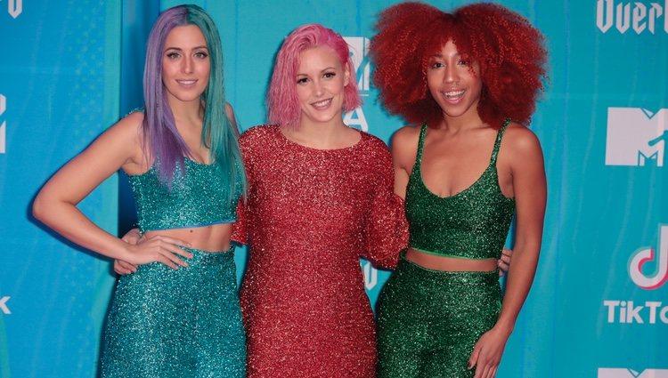 Sweet California en la alfombra de los MTV EMAs 2018 de Bilbao