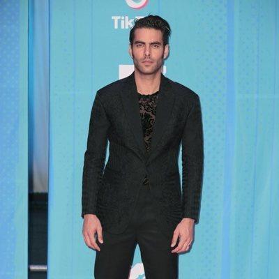 Jon Kortajarena en la alfombra de los MTV EMAs 2018 de Bilbao