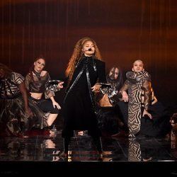 Janet Jackson actuando en los MTV EMAs 2018 de Bilbao