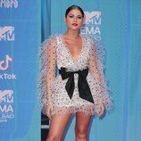 Sofía Reyes en la alfombra de los MTV EMAs 2018 de Bilbao