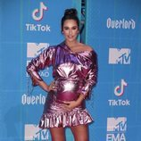 Rita Pereira en la alfombra de los MTV EMAs 2018 de Bilbao