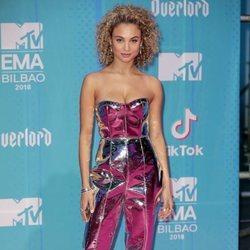 Rose Bertram en la alfombra de los MTV EMAs 2018 de Bilbao