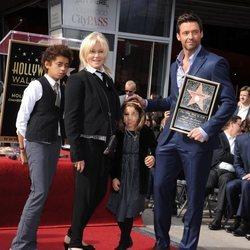 Hugh Jackman y su familia