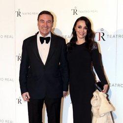 Pedro J. Ramírez y Cruz Sánchez en la Gala Anual Teatro Real 2018