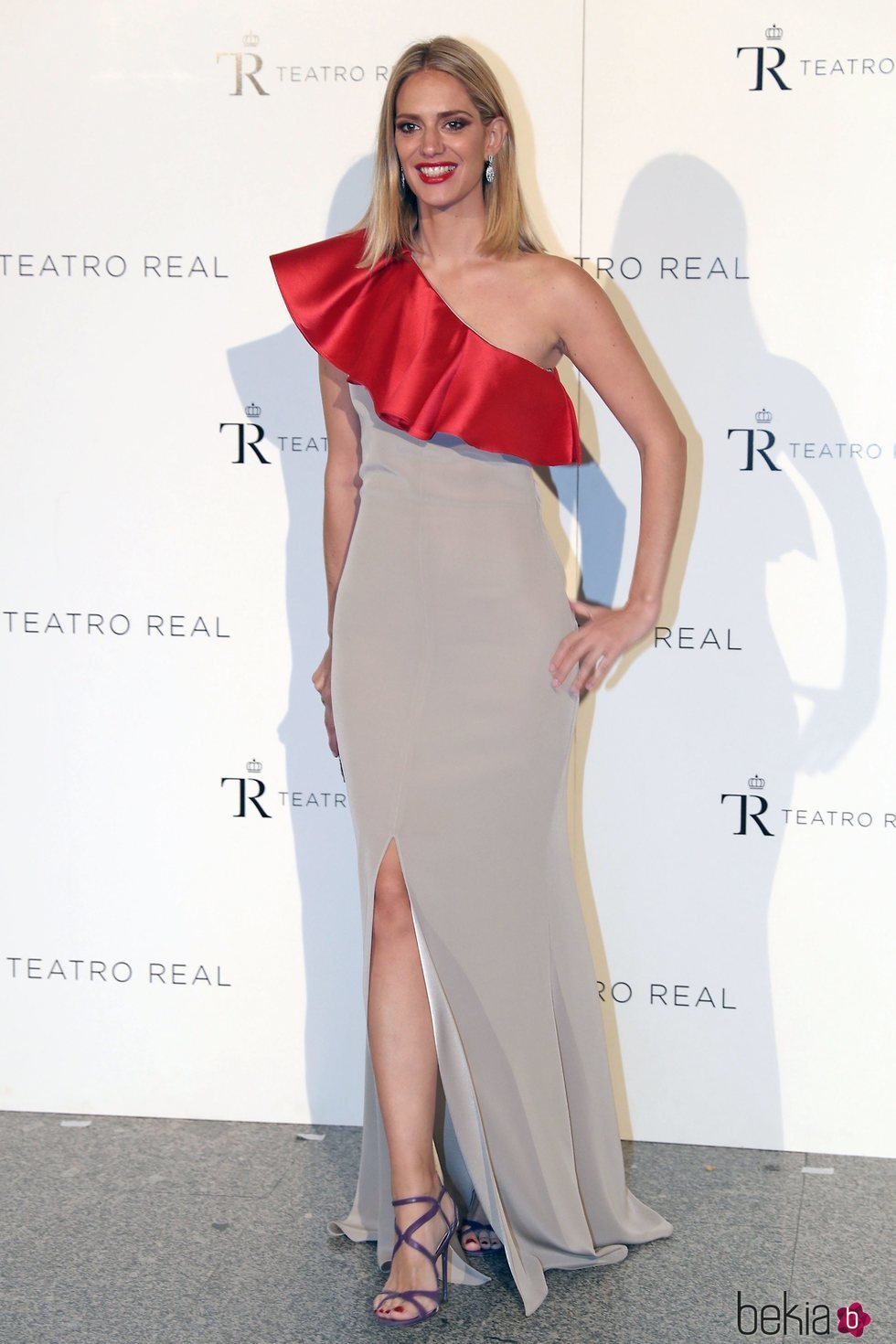 Teresa Baca en la Gala Anual Teatro Real 2018