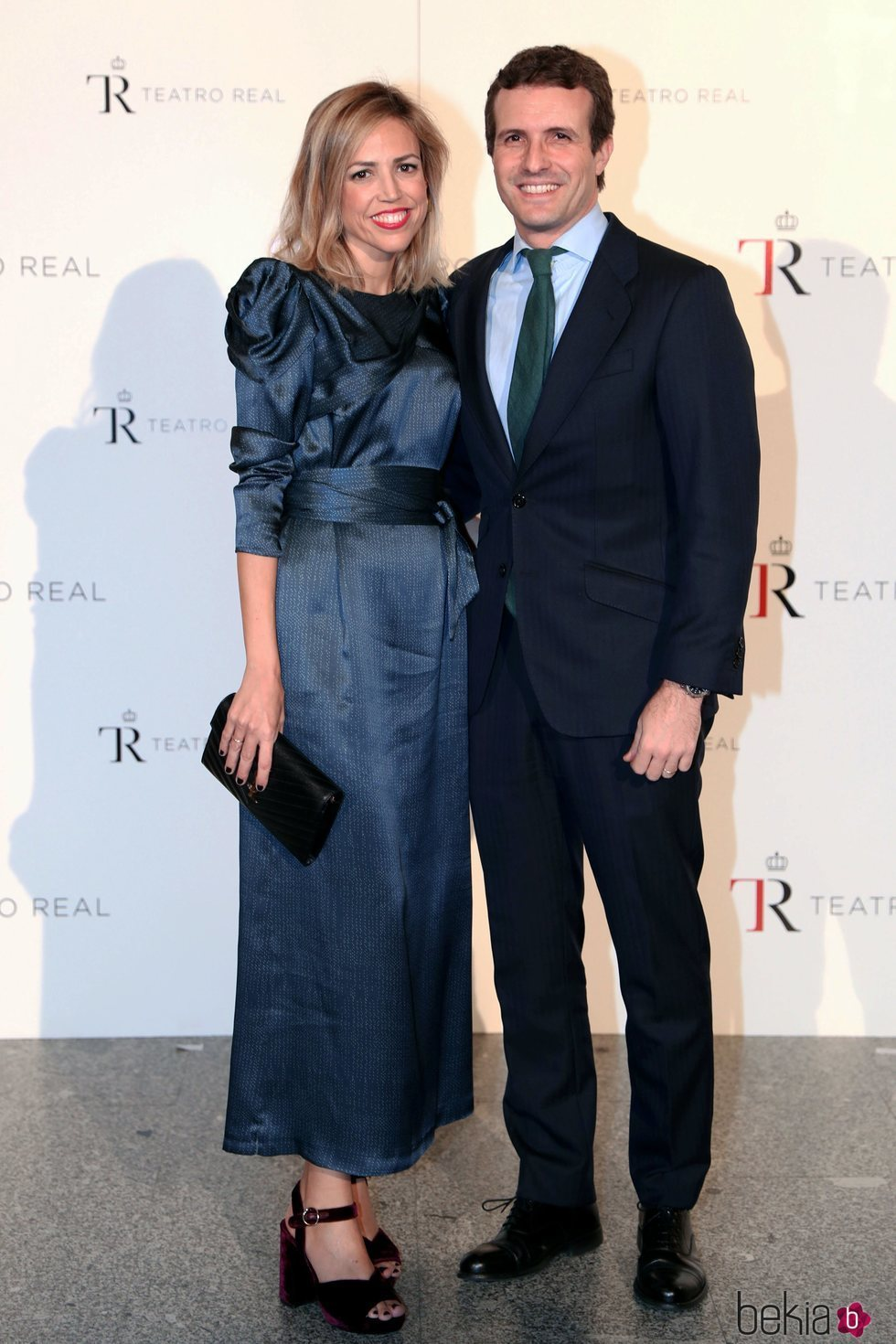 Pablo Casado e Isabel Torres en la Gala Anual Teatro Real 2018