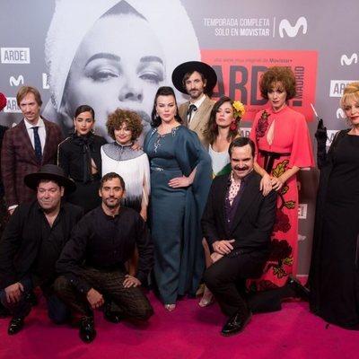 Elenco de la serie 'Arde Madrid'
