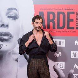 Paco León en el estreno de 'Arde Madrid'