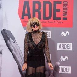 Eugenia Martínez de Irujo en el estreno de 'Arde Madrid'