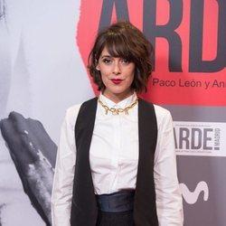 Belén Cuesta en el estreno de 'Arde Madrid'