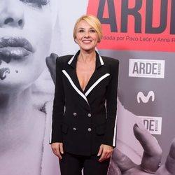 Cayetana Guillén Cuervo en el estreno de 'Arde Madrid'